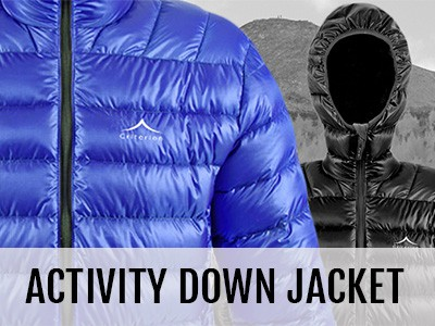 Criterion Activity Ultralight Down Jacket
