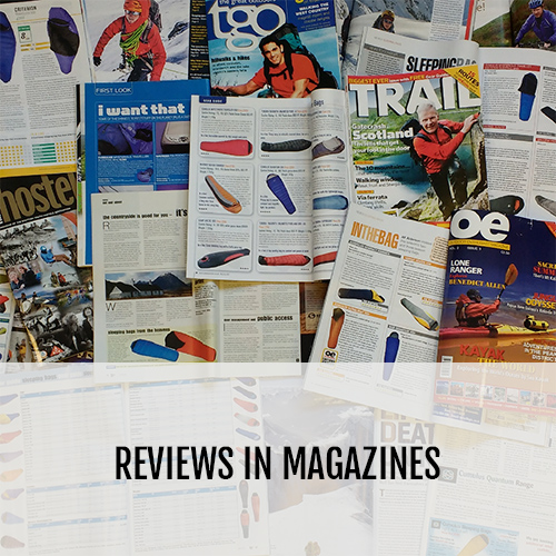 Reviews in Magazines