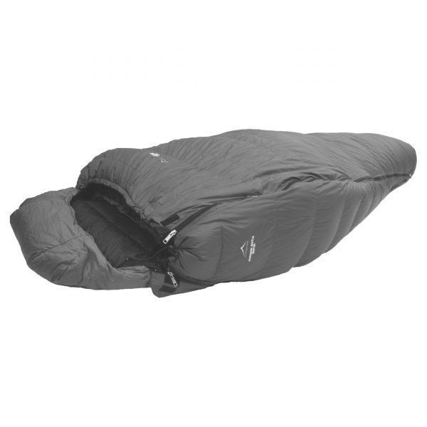 Down Sleeping Bags - Criterion Expander Baffles - Summer & Winter models available. Pictured zipped in.