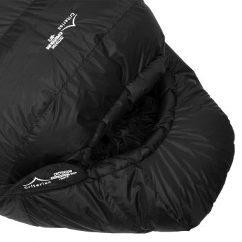 Criterion Expedition 1100 -40°C, 1170g (Hood Close Up) | Down Sleeping Bag