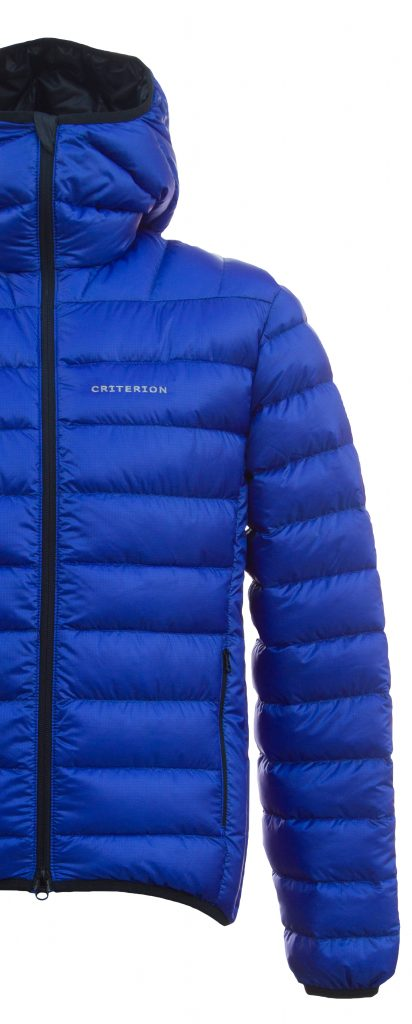 Criterion Activity Ultralight Down Jacket | half front, blue |