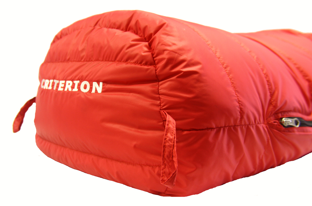 Criterion Down Sleeping Bags Trapeziod Foot