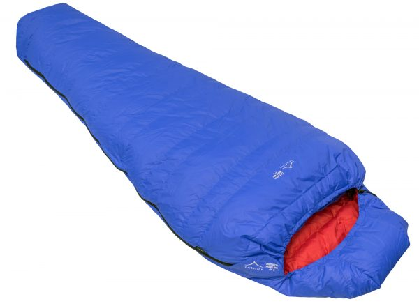 Down Sleeping Bags - Criterion Prime 400 - Total Weight 905 gms; Temperature -7 °C