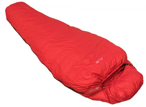 Down Sleeping Bags - Criterion Prime 550 - Total Weight 1055 gms; Temperature -12 °C