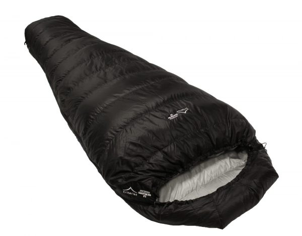 Down Sleeping Bags - Criterion Quantum 200 - Total Weight 530 gms; Temperature 0 °C