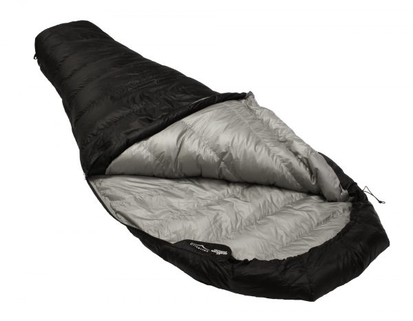 Down Sleeping Bags - Criterion Quantum 200 Open - Total Weight 530 gms; Temperature 0 °C