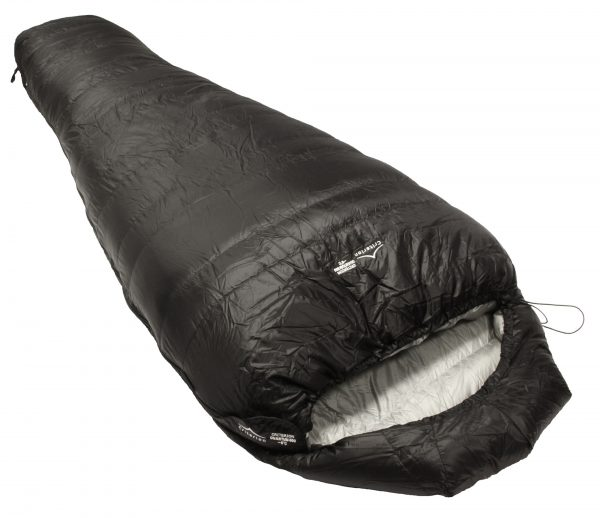 Down Sleeping Bags - Criterion Quantum 350 - Total Weight 695 gms; Temperature -3 °C