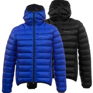 Criterion Activity Hydrodown Jacket (Black and Blue)