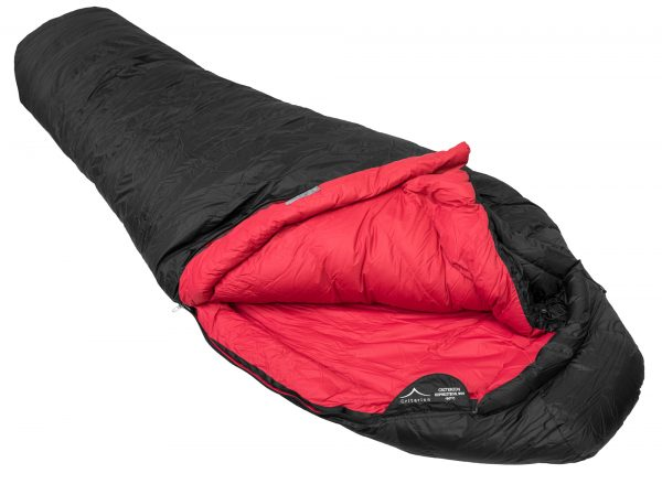 Criterion Expedition 900 Down Sleeping Bag (open), -30°C; 1570g | Down Sleeping Bag