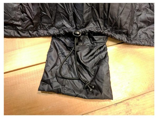 Criterion Quantum Quilt 200 foot bungee pocket and draught protector